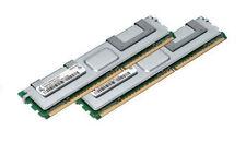 2x 2GB 4GB RAM Intel Server Board D5400XS S5000PAL 667 Mhz Fully Buffered DDR2
