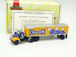 Matchbox 1/72 - Mack Truck B61 1956 Semi Remorque Bougies Champion