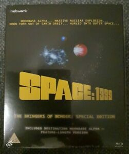 Space:1999 The Bringers Of Wonder Special Edition Blu-Ray Brand New Sealed