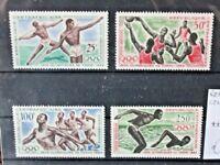 "FRANCOBOLLI REP. CENTRO AFRICANA 1964 ""OLIMPIADI TOKYO"" NUOVI MNH** SET (CAT.X)"