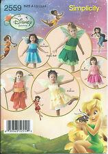 S 2559 sewing PATTERN Disney FAIRIES Fawn Silvermist TinkerBell Rosetta Iridessa