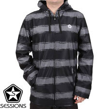 NWT Sessions Backstage Softshell Full Zip Snowboard Jacket Hoodie RT $130 !!!!