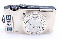 Nikon COOLPIX S8100 12.1 MP Digital Camera - Gold - NO ACCESSORIES