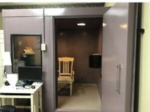Acoustic Systems Audio Booth RE142 MC Vocal Booth ETS Lindgren Systems