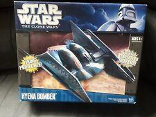 Hasbro  Star Wars The Clone Wars Trade Federation Hyena Droid Bomber New sealed