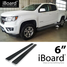 "Wheel-to-Wheel Running Board 6"" Fit Chevy Colorado GMC Canyon Crew Cab 15-18"