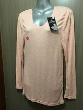 BNWT Ladies Sz 20 Jockey Brand Pale Peach Long Sleeve Warm Thermal Top RRP $38