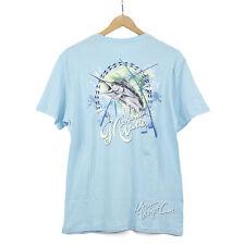 Blue Authentic Lifestyle Graphic Tee Shirt Margaritaville Mens Size XL R03