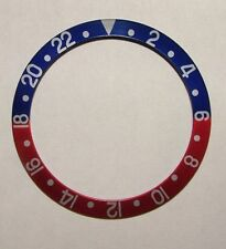 Bezel Insert 16700-6 Blue/Red/silver replacement For Rolex