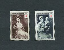 CROIX ROUGE - 1953 YT 966 à 967 - TIMBRES NEUFS** MNH LUXE