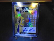 2019-20 PANINI ABSOLUTE RETIRED TYRONN LUE AUTO /49 LAKERS !