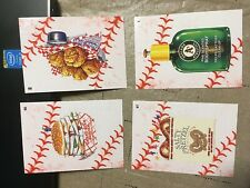 2016 Topps Wacky Packages MLB Basebal Stitches Parallel Set of 90 Stickers