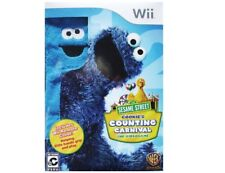 NEW FACTORY SEALED NINTENDO Wii SESAME STREET COOKIE'S COUNTING CARNIVAL