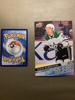 2020-21 Upper Deck JASON ROBERTSON Oversized Young Guns RC - Dallas Stars