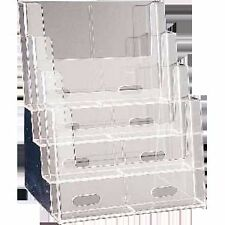 4 Tiered A4 Brochure Holder