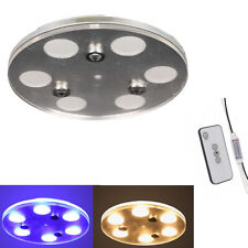 Facon 6-light LED Ceiling Dome Light Fixture Remote for RV Trailer Boat Camper
