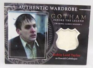 Gotham Legend Season 1 Wardrobe M17 Robin Lord Taylor as Oswald Cobblepot Card