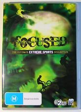 FOCUSED DVD DOCUMENTARY The Ultimate Extreme Sports Collection 2 DISC SET