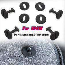 4XSET For BMW Carpet Floor Mat Twistlock Locking Clips 3 5 7 8 X3 X5 82119410191