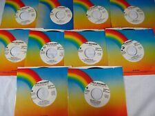 Lot 45 rpm vinyl record All Promos Vg+/Nm- You Select radio Dj rock pop Rare