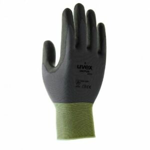 10 Pairs Uvex Unipur Hi-Dexterity Handling Work Gloves Coated Palms- Ultra-Light