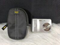 Nikon COOLPIX L3 5.1MP Digital Camera - Silver, Bundle