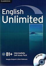 Cambridge ENGLISH UNLIMITED INTERMEDIATE Self-Study Pack/Workbook w DVD-ROM @New