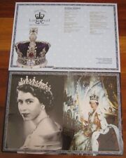 Rare Empty Folder Queen Elizabeth Diamond Jubilee William Kate Malaysia 2012