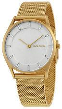 Skagen SKW2377 Holst White Dial Gold Tone Stainless Steel Women's Watch