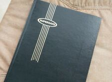 Stock book for postage stamps, unused. Black pages.