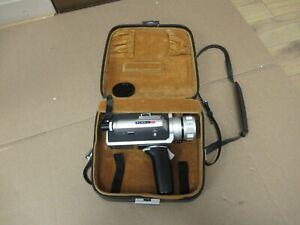 Elmo Super 106 Super 8 Cine Film Movie Camera with case