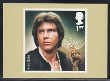 Great Britain Han Solo Star Wars Royal Mail Stamp Card