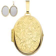 Medaillon 333 Gold Gelbgold H 33,8 mm Medallion Medaillion Medalion Metalion
