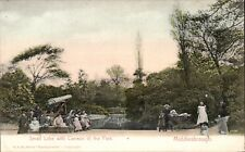 Middlesbrough. Small Lake & Cannon in the Park in RSK Series.