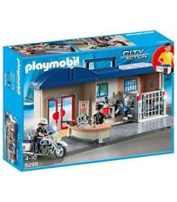 Playmobil City Acción Mitnehm central de Policía 5299