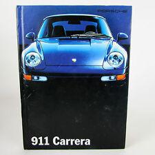 Porsche Carrera sales brochure livre catalogue 911 années 1990 rares sorties en livres reliés