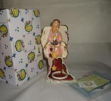 Blue Sky Clayworks 2008 Starlight Angel Tealight Holder NIB Retired Goldminc