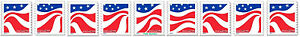 US 4894-4897 4897a Red White and Blue forever PNC9 MNH 2014
