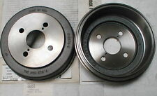 2 New Aimco 63125 Brake Drums for Chevy Nova Toyota Corolla Tercel Wagon Rear