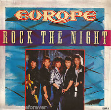 "EUROPE - Rock The Night (UK 2 Track 1986 7"" Single PS)"