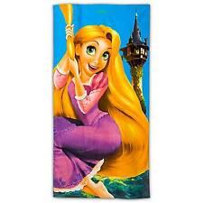 "Disney Store Tangled Rapunzel Beach Towel 30"" x 60"" NEW"