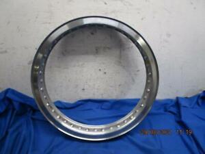 NOS Akront High Shouldered Aluminum WM3 x 18 Rim, 40 Hole, Triumph BSA  D880
