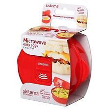 Microwave Egg Cooker Easy Eggs Sistema270 Ml Red BPA