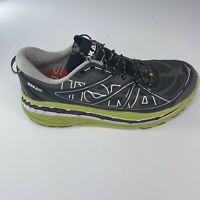 HOKA ONE ONE Mens Gray & Green Stinson ATR Running Sneakers Size 10.5 US