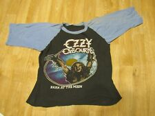 Vintage Ozzy Osborne tour shirt Bark at the Moon 80s 1980s Black Sabbath 84