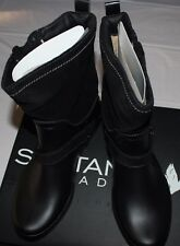 $200 SANTANA CANADA CAYLEY BLACK FAUX FUR LINED WATERPROOF SHORT RAINBOOT US 11