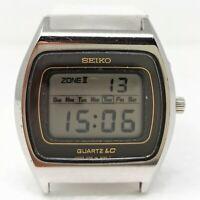 Orologio Seiko 0139A digital watch vintage clock seiko 0138-5000 old reloy