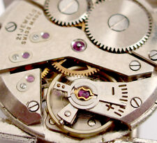 AS 1200  RUNS & Keep Time - OLD Swiss Wrist watch movement - Parts  4 WatchMaker