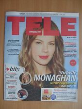MICHELLE MONAGHAN on front cover Polish Magazine TELE MAGAZYN 23/2017