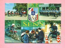 ECOLE NATIONALE DE POLICE DE SENS ( 89 )  MULTIVUES : MOTO  CAGIVA  ?